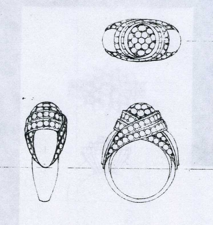 Drawing class fine jewelry studios for Learn to draw jewelry